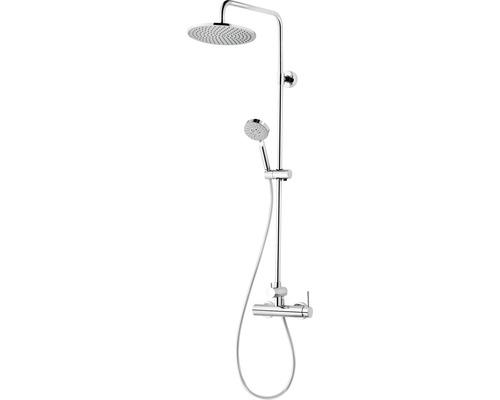 Duschmaster Schulte Rain III D969271 02 mit Einhebelmischer chrom