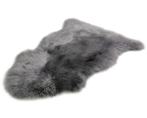 Schaffell dunkelgrau 60x90 cm