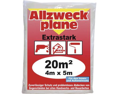 Allzweckplane D50 transparent 4 x 5m
