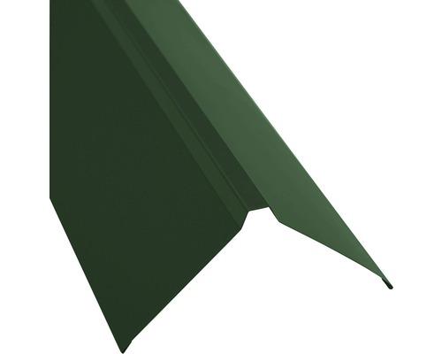 PRECIT Dachfirst gerade für Trapezblech moss green RAL 6005 1000 x 95 x 95mm