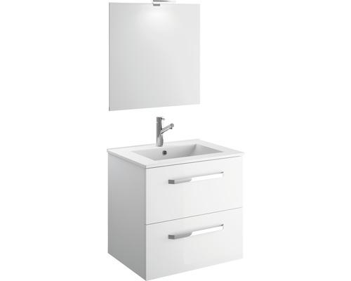 Badmöbel-Set Cygnus Bath Titlis Quick 60 200x61x46 cm weiß