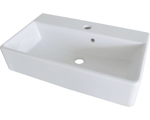 Aufschatz-Waschtisch Fackelmann iX! 60x35 cm weiß