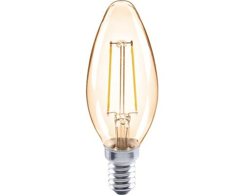 FLAIR LED Kerzenlampe CL35C amber E14/2W(26W) 180 lm 2000 K warmweiß