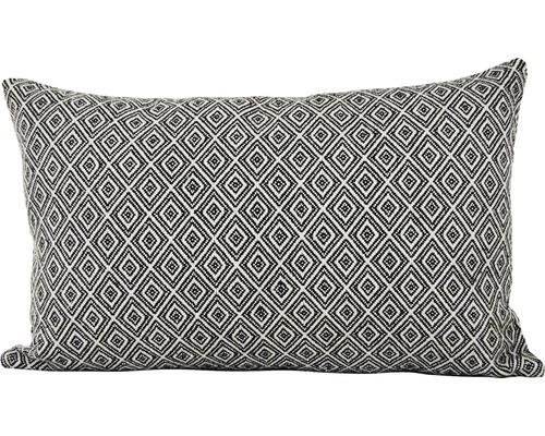 Dekokissen Ace schwarz weiß 30x50 cm