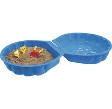Sandkasten, Wassermuschel BIG Muschel Kunststoff 88x88x21 cm blau