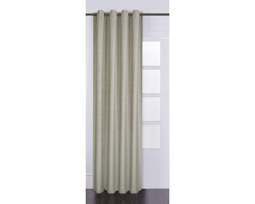 Ösenschal Gittytex beige 140x280 cm