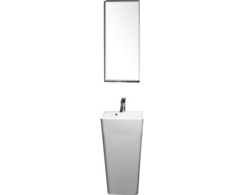 Waschtischsäule Sanotechnik oval 45x44,5x83 cm weiß