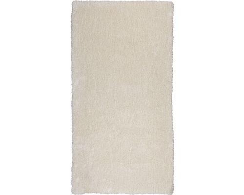 Hochflor-Teppich Dany fleecy ivory 80x150 cm