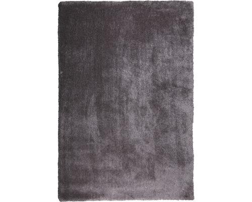 Hochflor-Teppich Dany fleecy grau 160x230 cm
