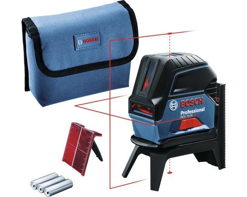 Kombilaser Bosch Professional GCL 2-15 inkl. 3 x 1,5 V-LR6-Batterie (AA) und Laserzieltafel