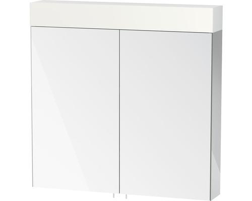 Spiegelschrank Duravit Vero 80x80x14,2 cm 2-türig weiß