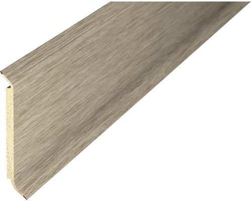 Sockelleiste PVC akazie 15x60x2500 mm