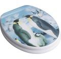 WC-Sitz ADOB 3D-Pinguin mit Absenkautomatik