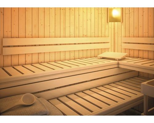 Sauna Rückenlehne und Bankblenden Karibu Set 2