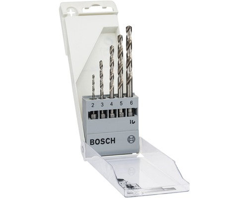 Metallbohrer Set 6-kant Bosch 5-tlg