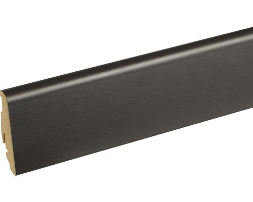 Sockelleiste FU060L Anthracite 19x58x2400 mm
