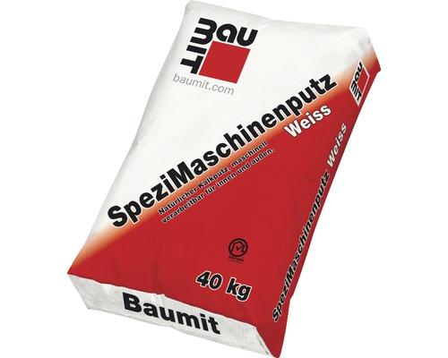 SpeziMaschinenputz Weiss Baumit 40 kg