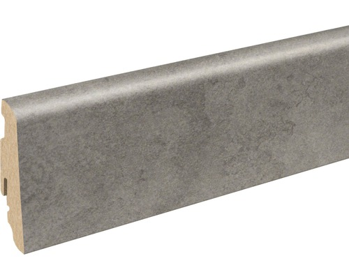 Sockelleiste FU060L Gris clair Beton 19x58x2400 mm