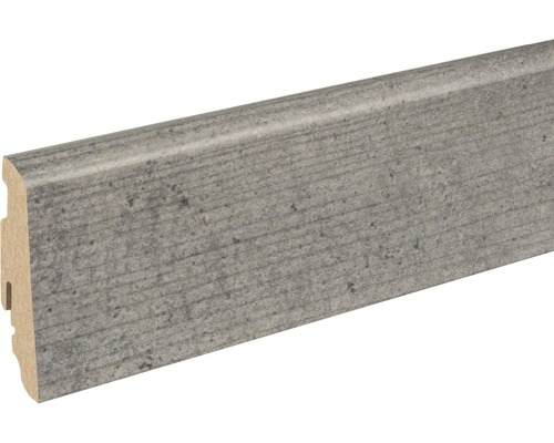 Sockelleiste FU60L Sichtbeton Concrete 19x58x2400 mm