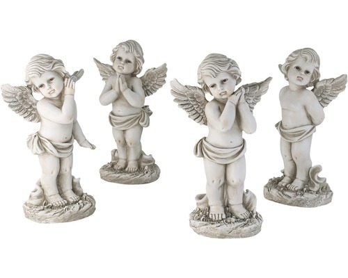 Engel stehend sortiert ca.19x14x33 cm