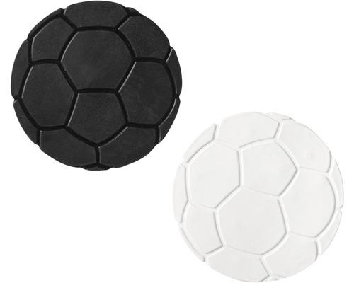 Mini Wanneneinlage Ridder Füße schwarz-weiß 10 cm