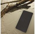Wanneneinlage Ridder Playa schwarz 38x80 cm