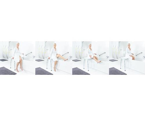 Badewannen-Transferbank Ridder höhenverstellbar weiß