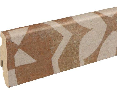 Sockelleiste FU60L Quadraic Terracotta 19x58x2400 mm
