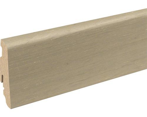 Sockelleiste furniert SU60L Oak brushed 19x58x2400 mm