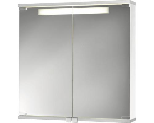 Spiegelschrank Jokey Cento 60x65x17 cm 2-türig weiß
